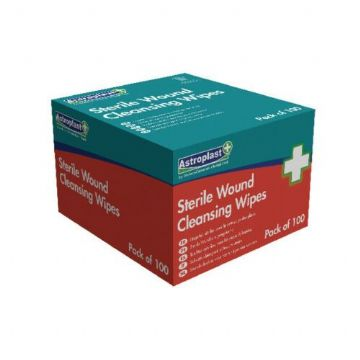 Wallace Cameron Alcohol-Free Wipes  / Pack of 100